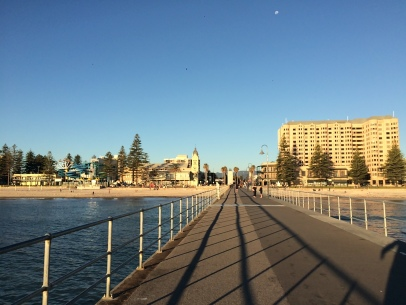 The jetty at Glenelg.