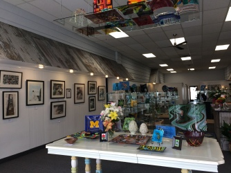 The newly opened gallery 45 North.