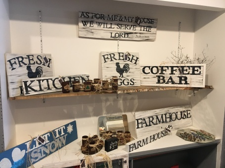Handmade signs and decor available at My Front Porch Decor.